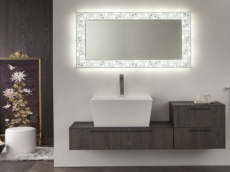 Cheap specchi per soggiorno moderni specchi da parete di - Specchi particolari per bagno ...