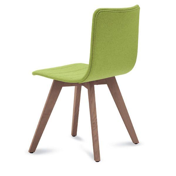 Flexa lx chaise domitalia en bois assise recouverte en for Chaise domitalia
