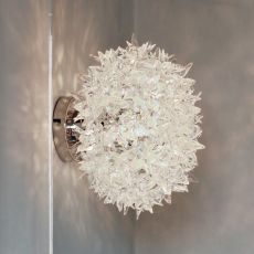 Bloom W - Lampe de plafond Kartell en technopolymère, en différentes couleurs et dimensions