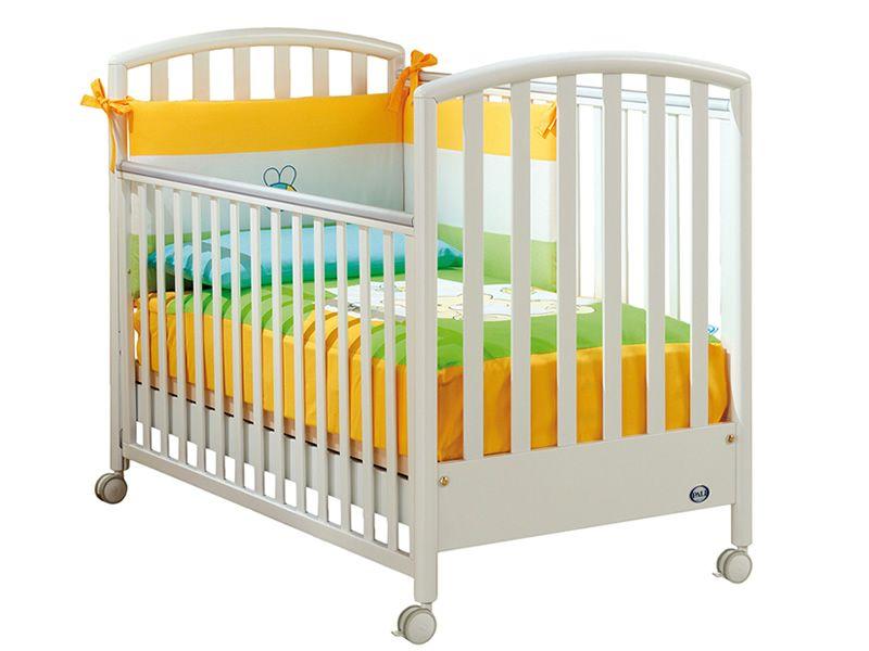 Ciak lit b b pali en bois avec tiroir sommier lattes r glable en hauteur diff rentes - Lit bebe hauteur reglable ...