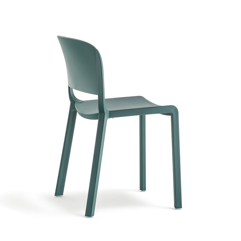 Dome pour bars et restaurants chaise empilable en polypropyl ne avec ou sans accoudoirs - Chaise en polypropylene ...