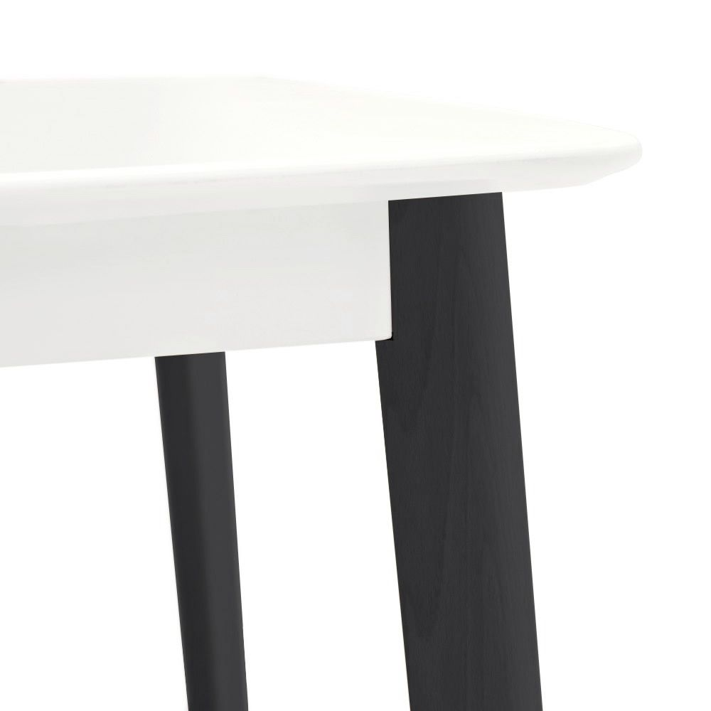 Cs4063 q cream table tavolo calligaris in legno 90 x 90 for Tavolo cream calligaris