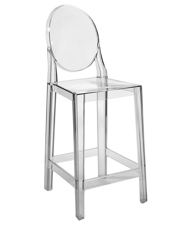 One More Kartell Design Stool In Polycarbonate Seat Height 65 Or 75 Cm Al
