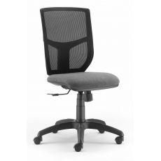 ML348 - Sedia operativa da ufficio, schienale in rete, seduta imbottita