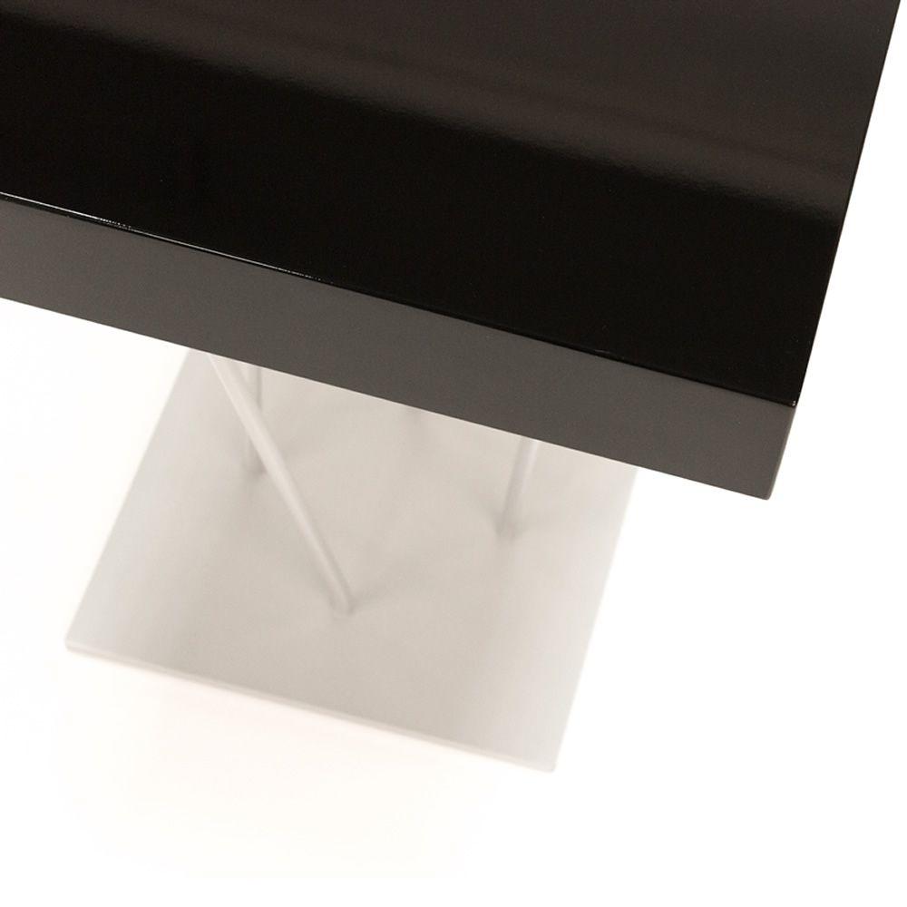 Ginger - Tavolino di design Bontempi Casa, con struttura in acciaio laccato e...