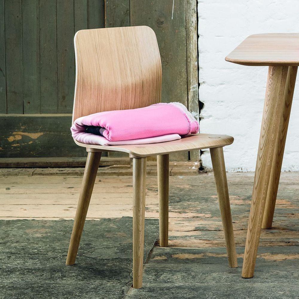 Malmö Stuhl malmö - stuhl ton aus holz, mit sitz aus holz | sediarreda