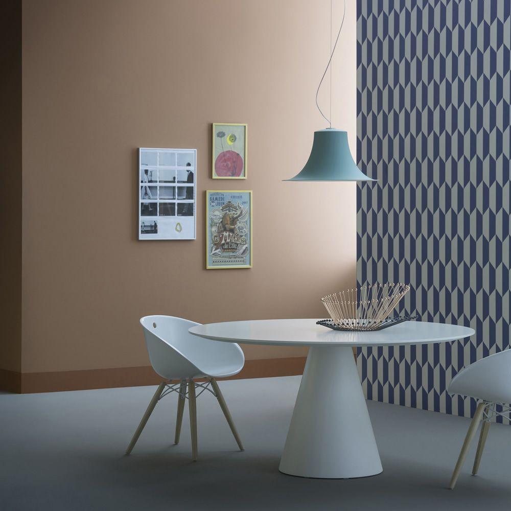 Ikon 869: Fester Tisch Pedrali, aus Polyethylen, mit ...