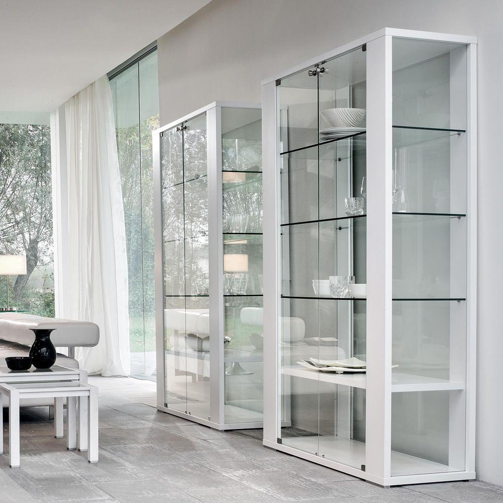 Aurora 6252 vitrina tonin casa de cristal y madera en - Vitrinas para casa ...