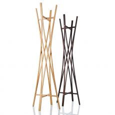 Tra - Appendiabiti in legno, diversi colori disponibili