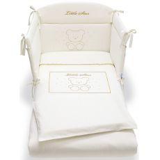 Prestige Little Star set - Set letto Pali con paracolpi, piumotto sfoderabile e federa cuscino, in diversi colori