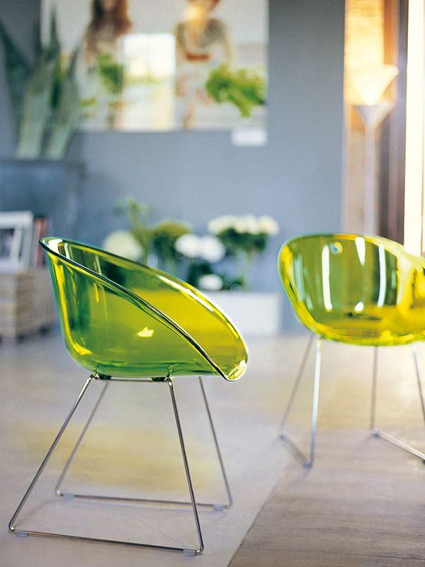 design stuhl pedrali aus metall mit sitz aus thecnopolymer oder polycarbonat verschiedene. Black Bedroom Furniture Sets. Home Design Ideas