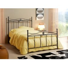 Albatros 120 - French bed made of iron, available in several colours