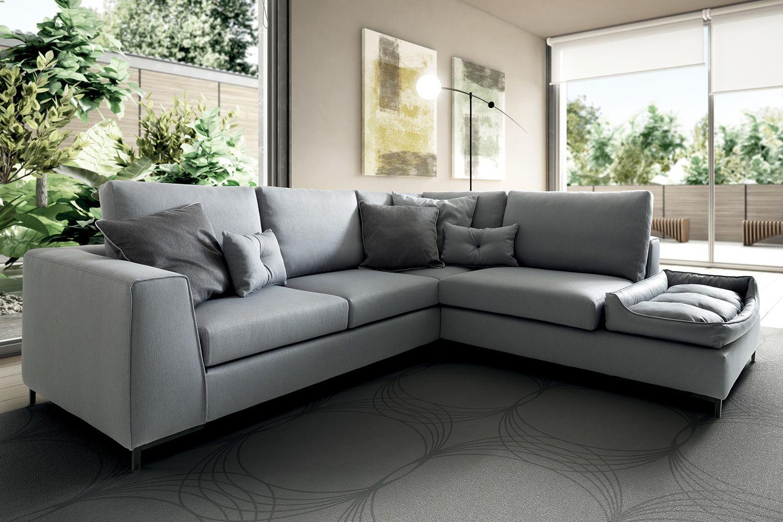Harmony divano a 3 o 4 posti con cuccia sfoderabile for Divano 4 posti