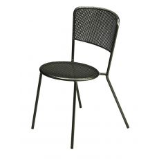 Aria - Emu metal chair, stackable, for garden