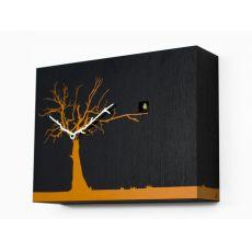 Cùcùrùkù - Orologio da parete a cucù, in legno, diversi colori disponibili