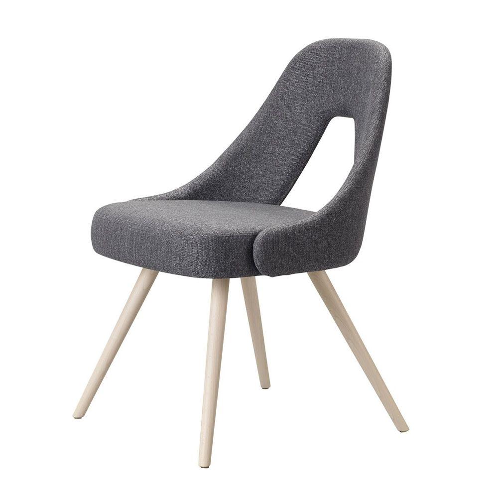 Me 2804 chaise en bois assise et dossier rembourr s for Chaise en couleur