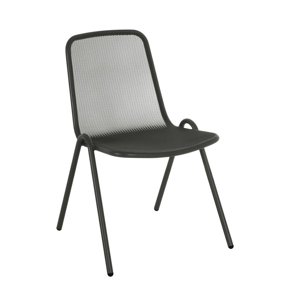allegra chaise en m tal empilable aussi pour jardin sediarreda. Black Bedroom Furniture Sets. Home Design Ideas