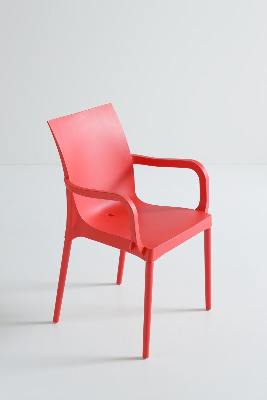Iris pour bars et restaurants chaise moderne pour bar et - Chaise de jardin couleur ...