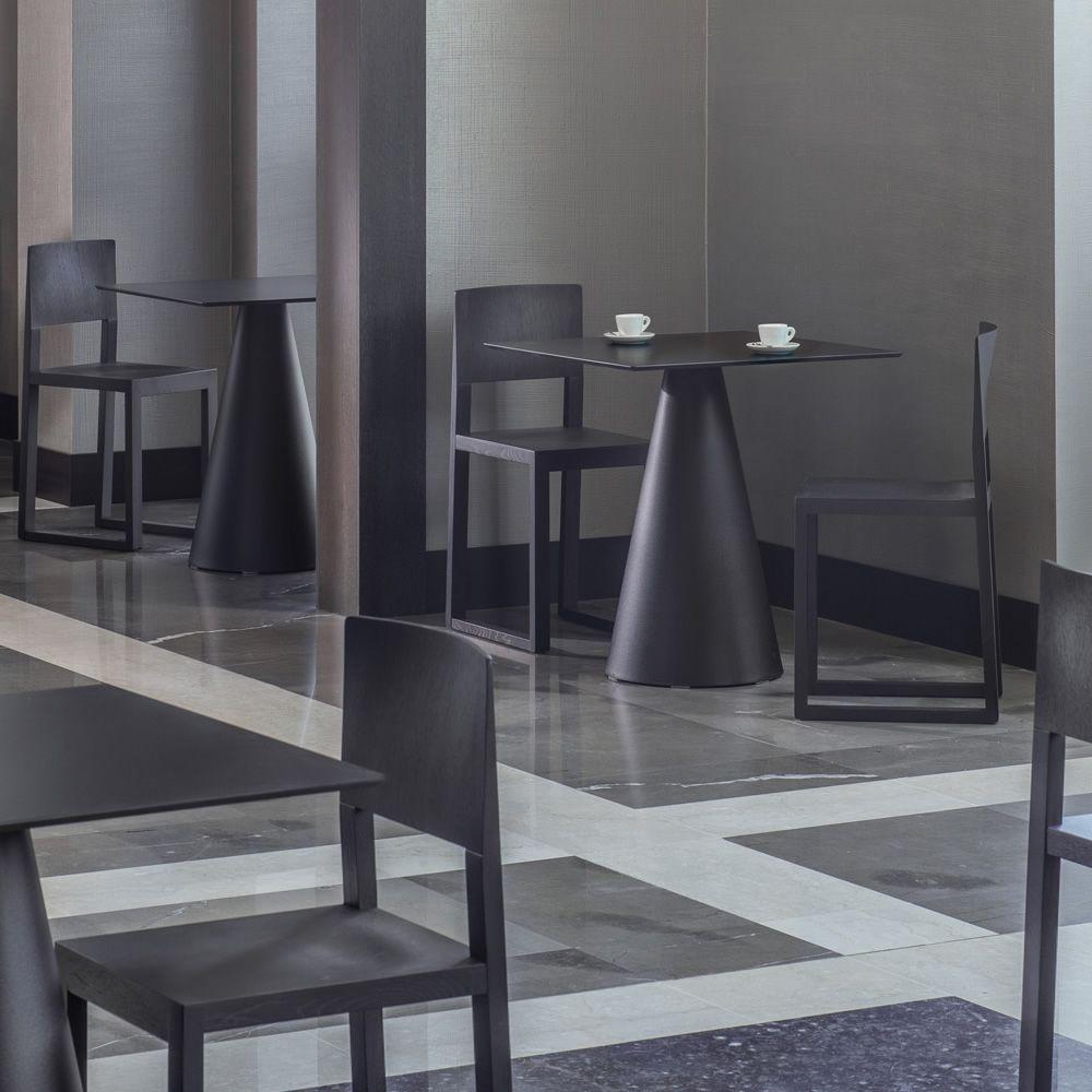 Brera 380 sedia pedrali di design in legno massello di for Design brera