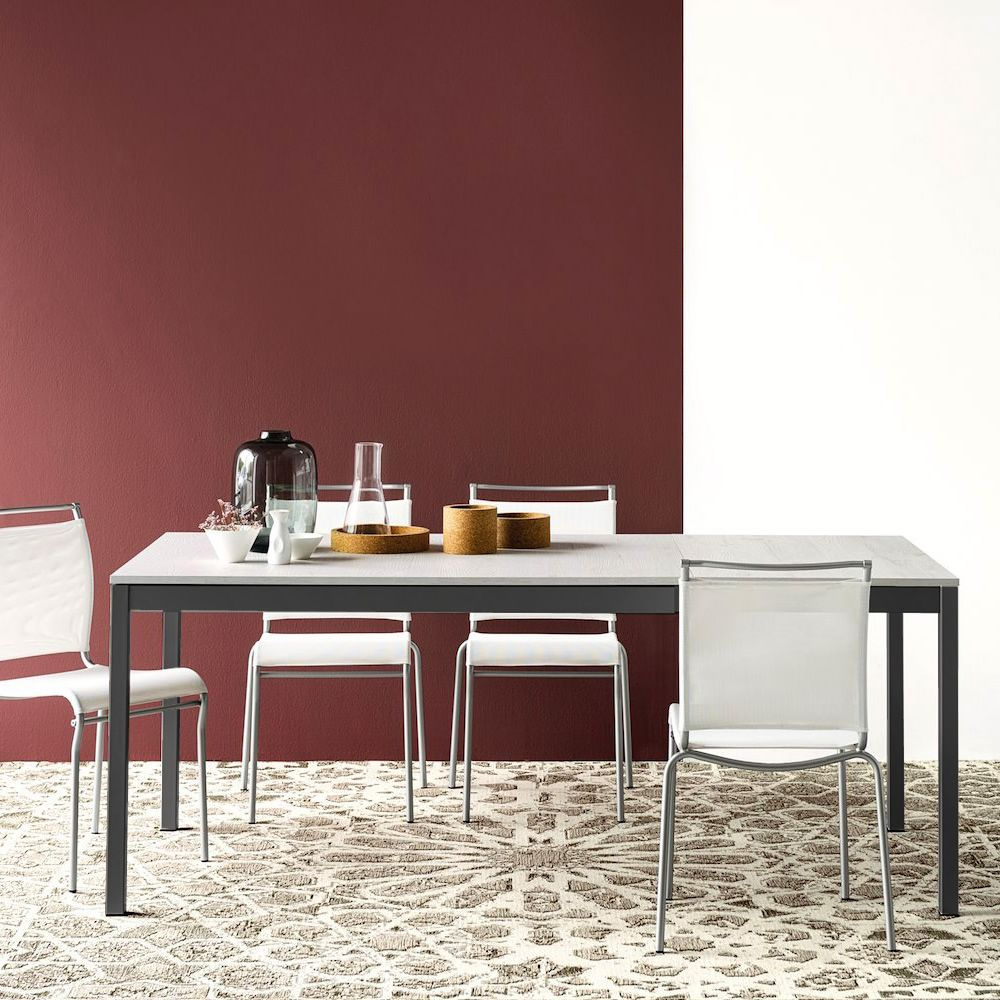 Geräumig Connubia Calligaris Galerie Von Cb4085-ml Snap - Extendable Table Made Of