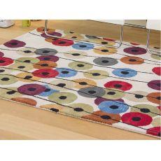 Argo Garenia Ivory - Phantasie moderner Teppich, verschiedene vorrätige Größen