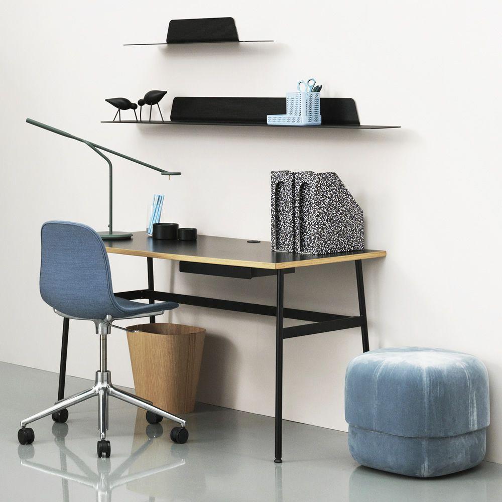 journal bureau normann copenhagen en m tal plateau en. Black Bedroom Furniture Sets. Home Design Ideas