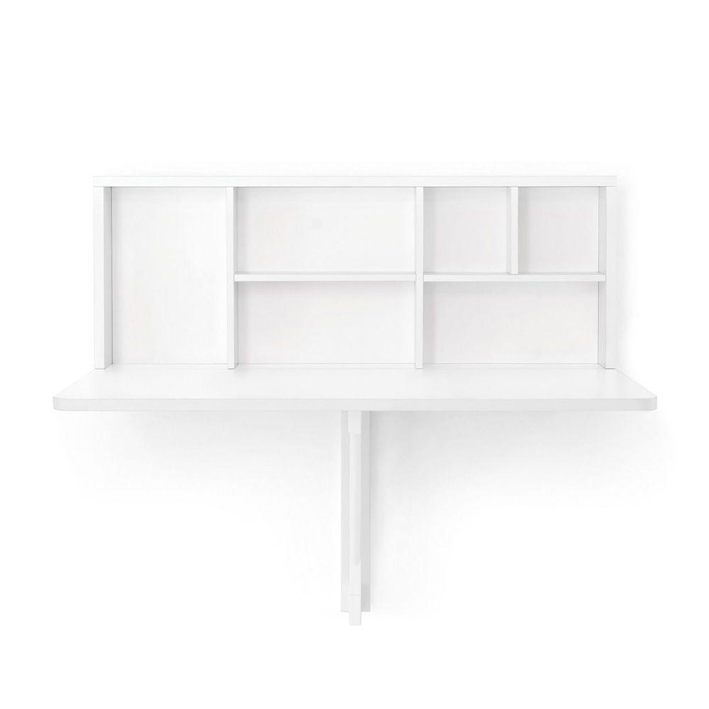 Cb4061 spacebox tavolo pieghevole da muro connubia calligaris in nobilitato sediarreda - Tavolo da muro pieghevole ...