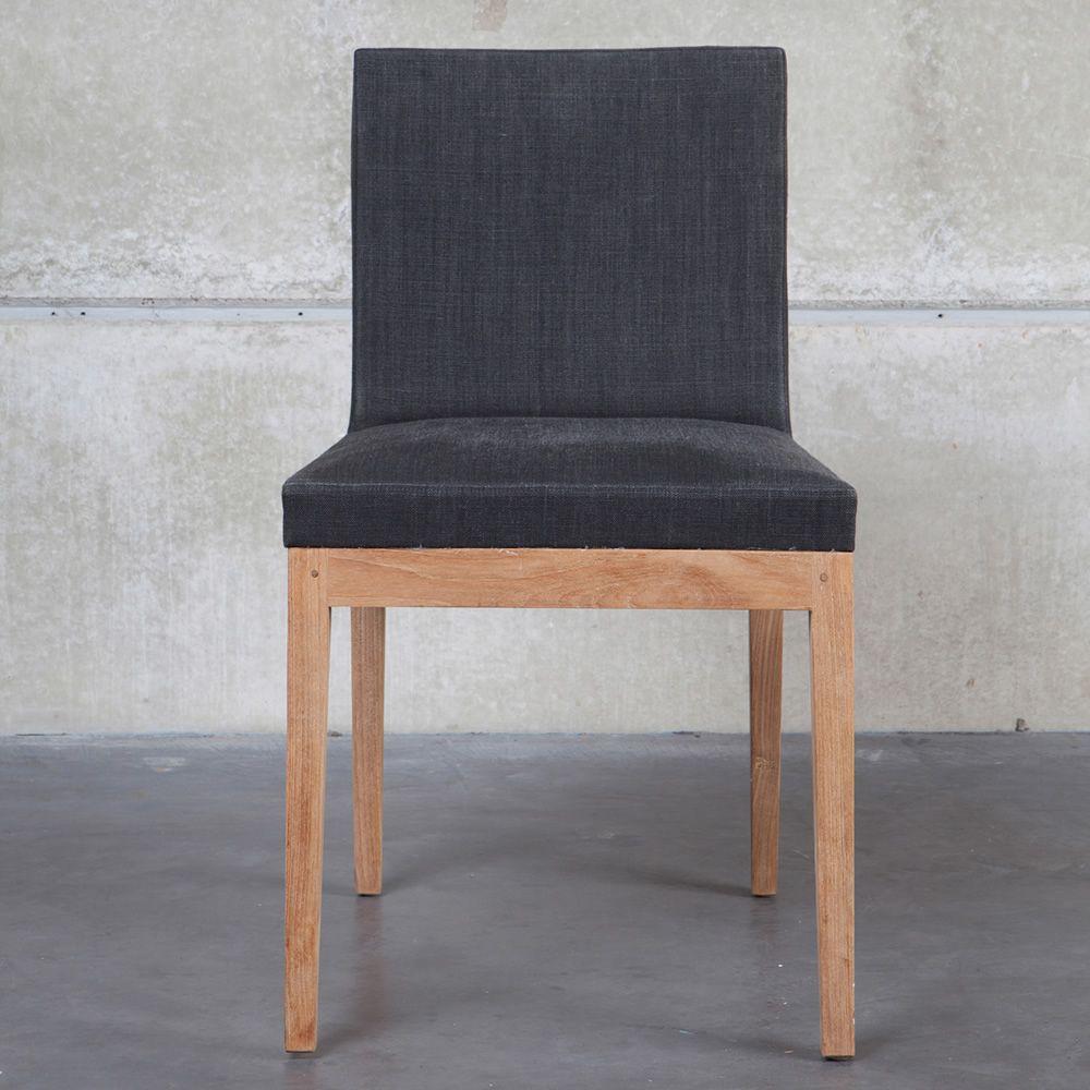 b1 stuhl ethnicraft aus teakholz gepolsterter sitz und stoffbezug sediarreda. Black Bedroom Furniture Sets. Home Design Ideas