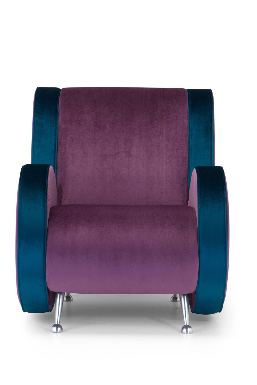 Ata - Poltrona di design Adrenalina, disponibile in diversi tessuti e colori - Sediarreda