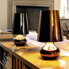Cindy - Kartell table lamp, made of ABS, in several colours available