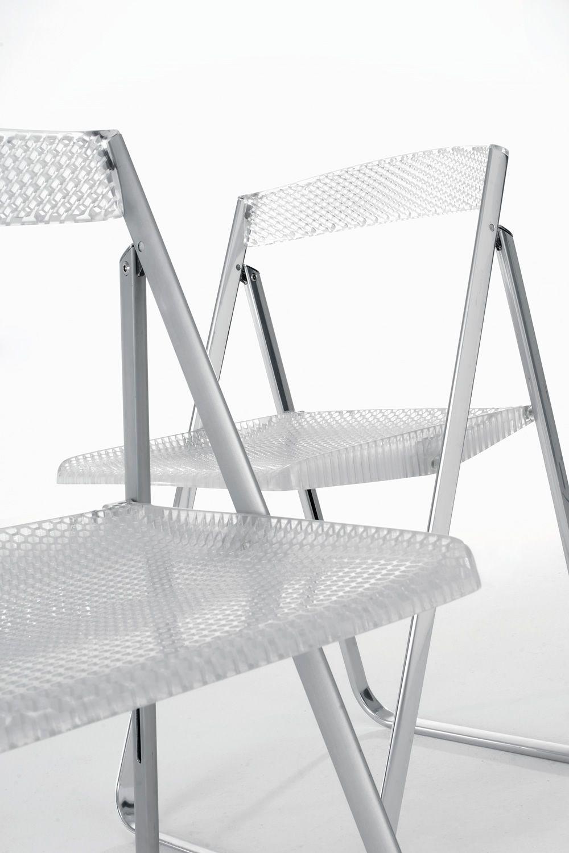 Honeycomb sedia pieghevole kartell in alluminio con - Sedia pieghevole design ...