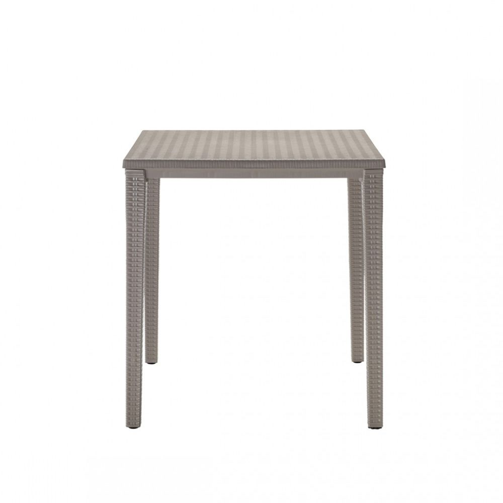 Orazio 2189 table empilable pour jardin 70x70 cm for Table exterieur 70x70