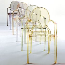 Louis Ghost - Poltroncina Kartell di design, in ...