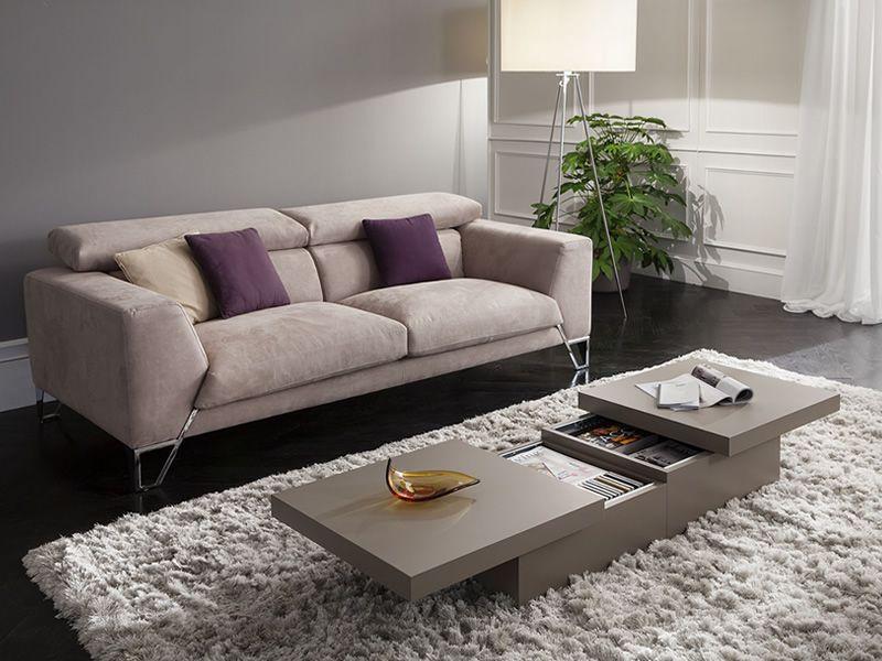 Pa347 tavolino in legno con contenitore disponibile in for Abbinamenti colori salotti