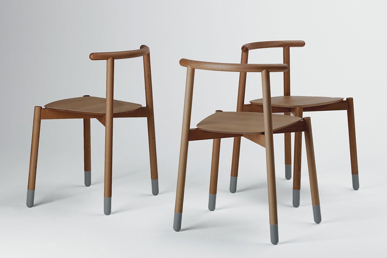 Stick c silla apilable valsecchi de madera en distintos for Sillas de comedor apilables