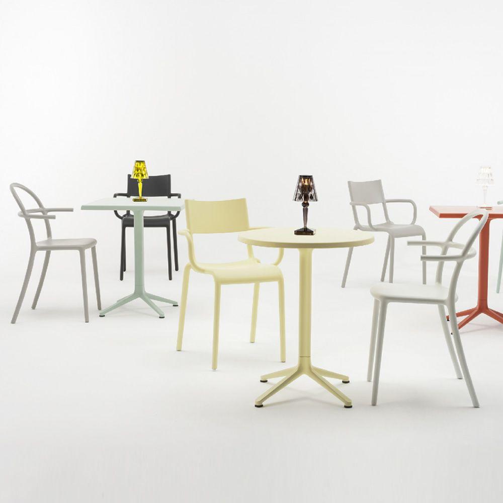 Generic c per bar e ristoranti sedia kartell di design for Sedie di design