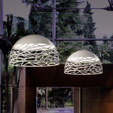 Kelly Dome - Lampada a sospensione di design, in metallo, disponibile in diverse dimensioni e colori