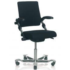H03 ® R - Chaise de bureau ergonomique HÅG, avec ou sans accoudoirs, différentes couleurs
