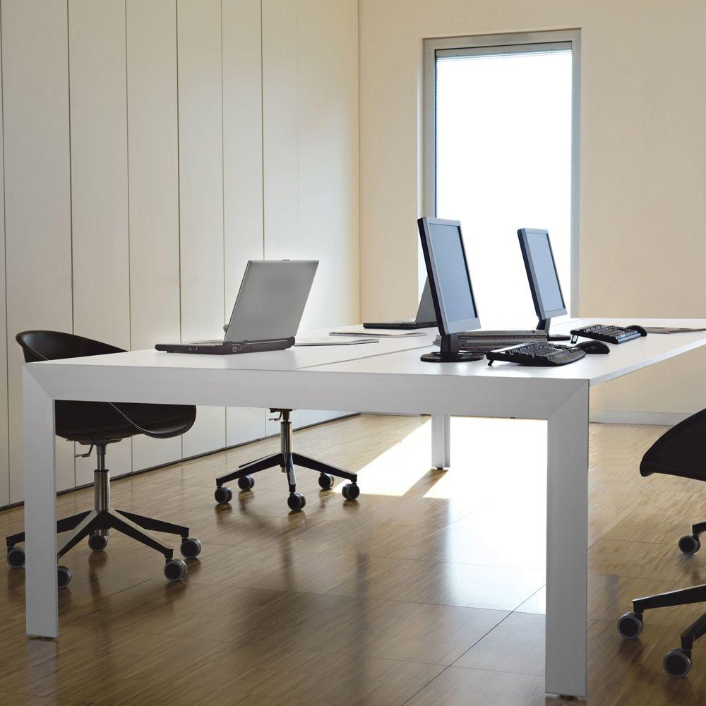 Matrix desk - Scrivania o tavolo da riunione Pedrali, in alluminio ...