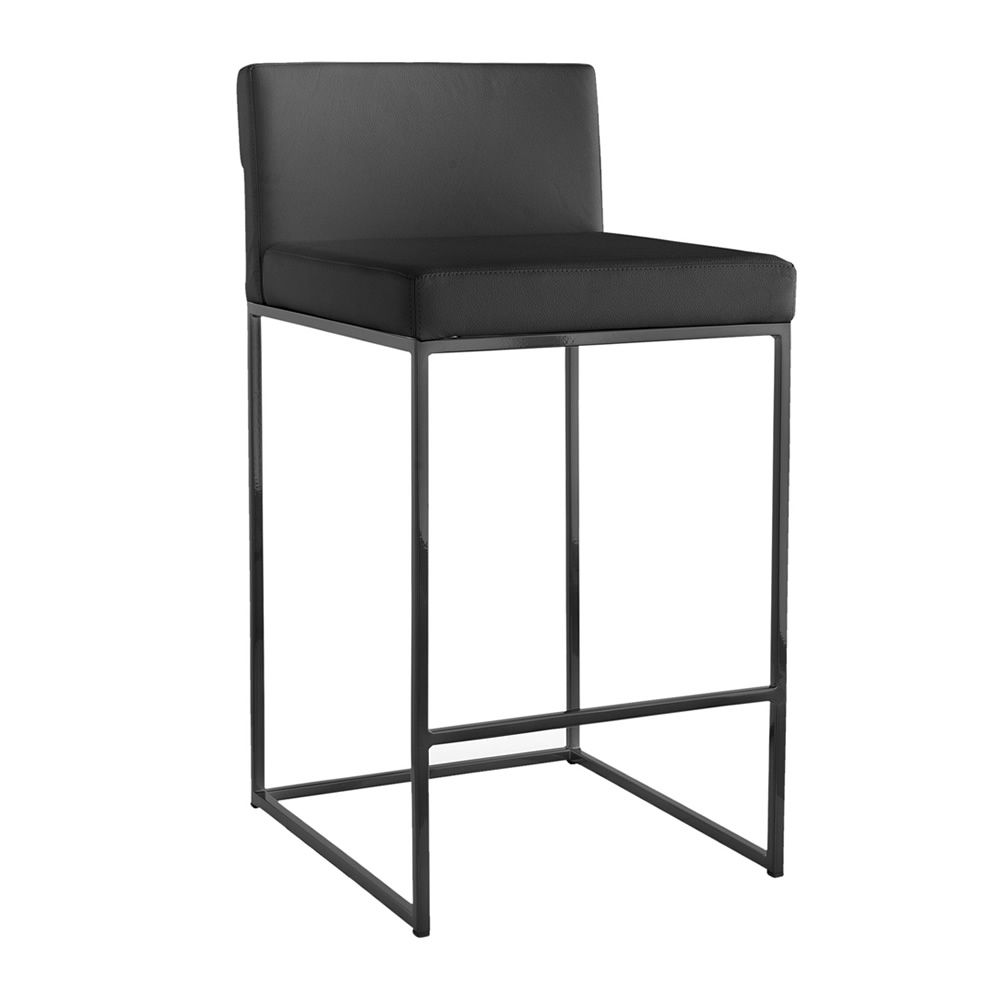 Cs1296 lh even plus sgabello calligaris in metallo con for Sedie e sgabelli