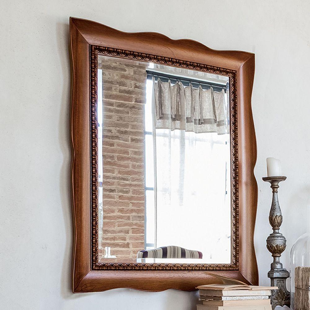 marte 4955 spiegel tonin casa mit klassischem ramen aus holz in verschiedene ausf hrungen und. Black Bedroom Furniture Sets. Home Design Ideas