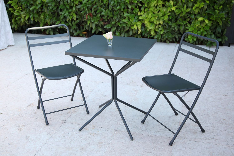 rig85 pour bars et restaurants - table d'extérieur en métal