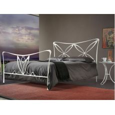 Alice - Double bed in iron available in several colours