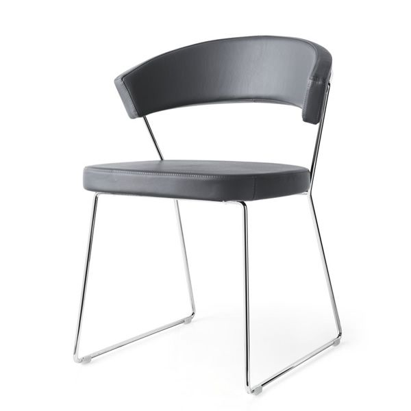 Cb1022 lh new york sedia connubia calligaris in for Tavolo new york