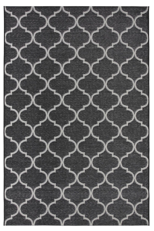 Zoe 6359 tappeto moderno in polipropilene in diverse for Tappeto nero moderno