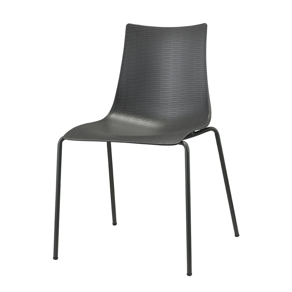 bella intrecciata 2695 chaise design en m tal et technopolym re empilable disponible en. Black Bedroom Furniture Sets. Home Design Ideas