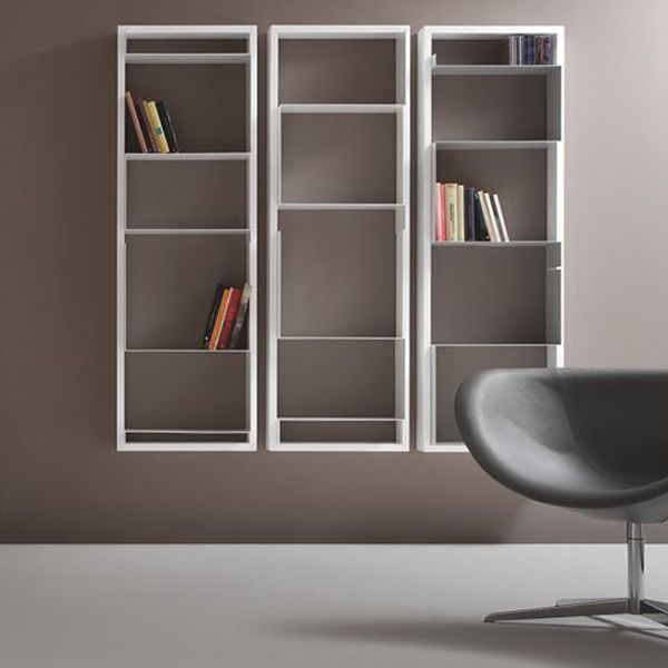 mondrian biblioth que murale modulable de tonon diff rentes finitions sediarreda. Black Bedroom Furniture Sets. Home Design Ideas