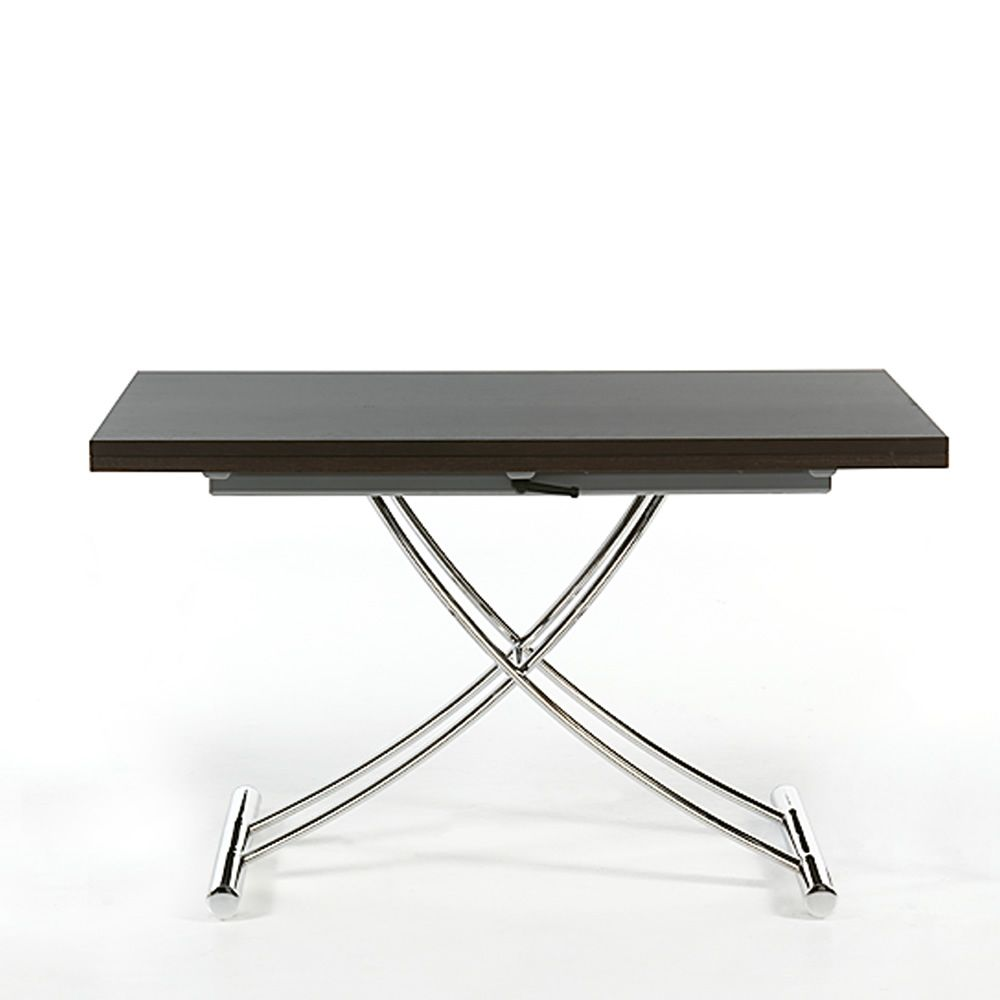 Up down steel table extending and adjustable in height - Table transformable up down ...