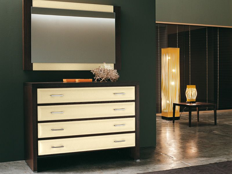 pellerossa lampada di design da terra in cuoio e legno. Black Bedroom Furniture Sets. Home Design Ideas