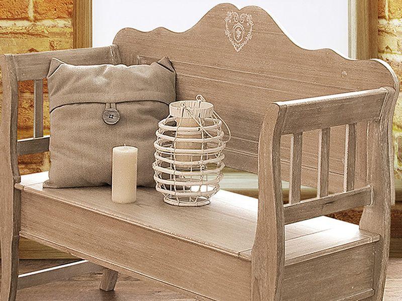 Panca Seduta Funzionale In Casa : Augusta panca in legno con seduta a ribalta diversi